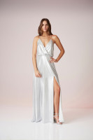 Luxe Metallic Dress