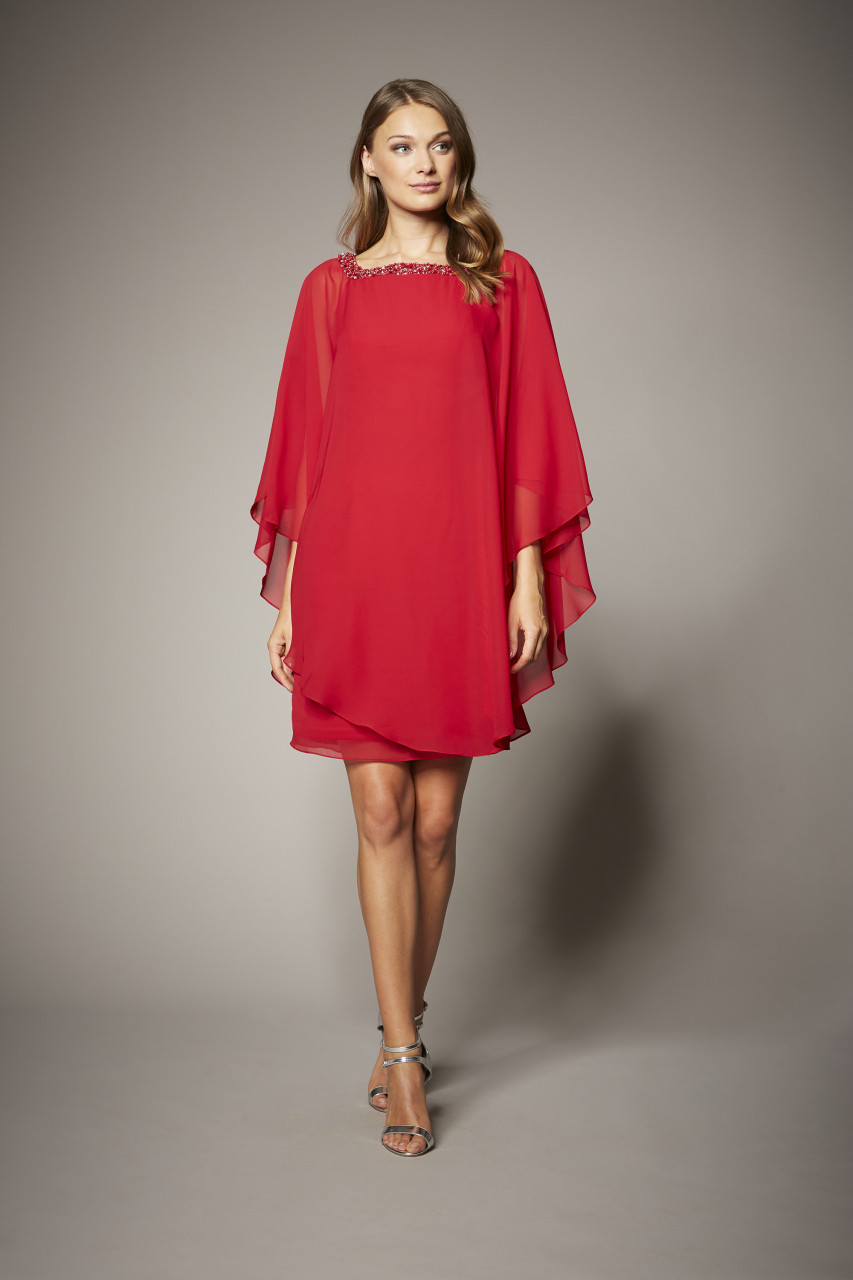 FUSION RED DRESS