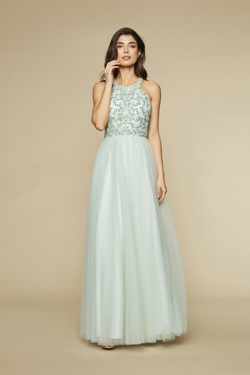 SHIMMER & SHINE GOWN