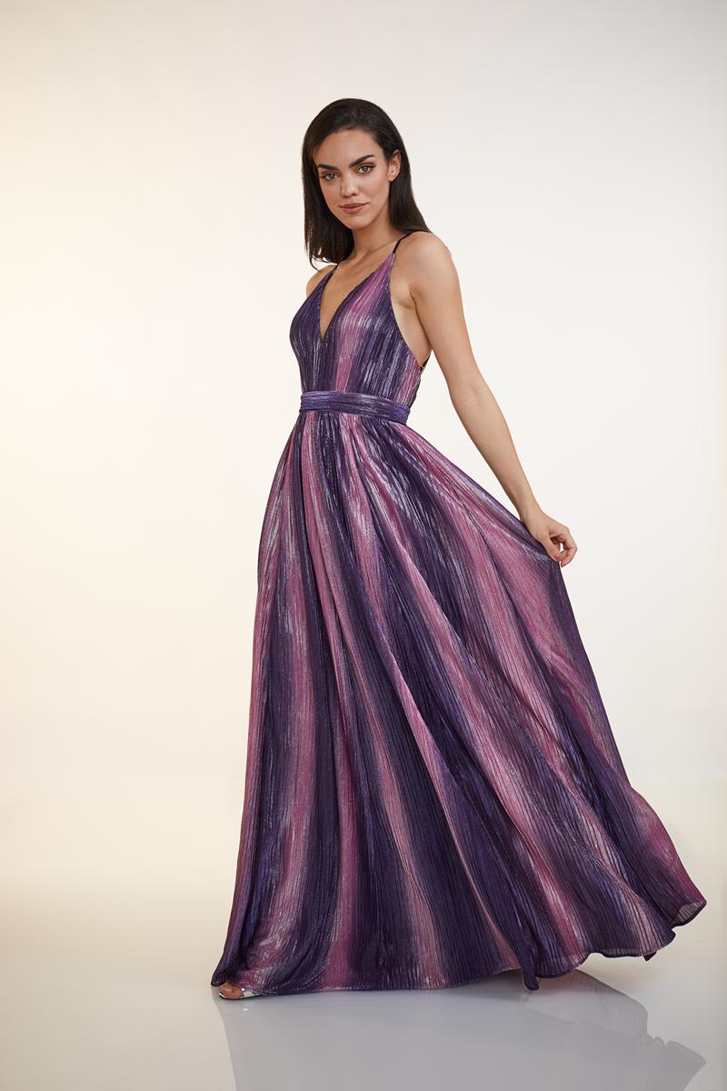 MULTI LILAC DRESS