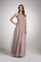 CRYSTAL TULLE DRESS