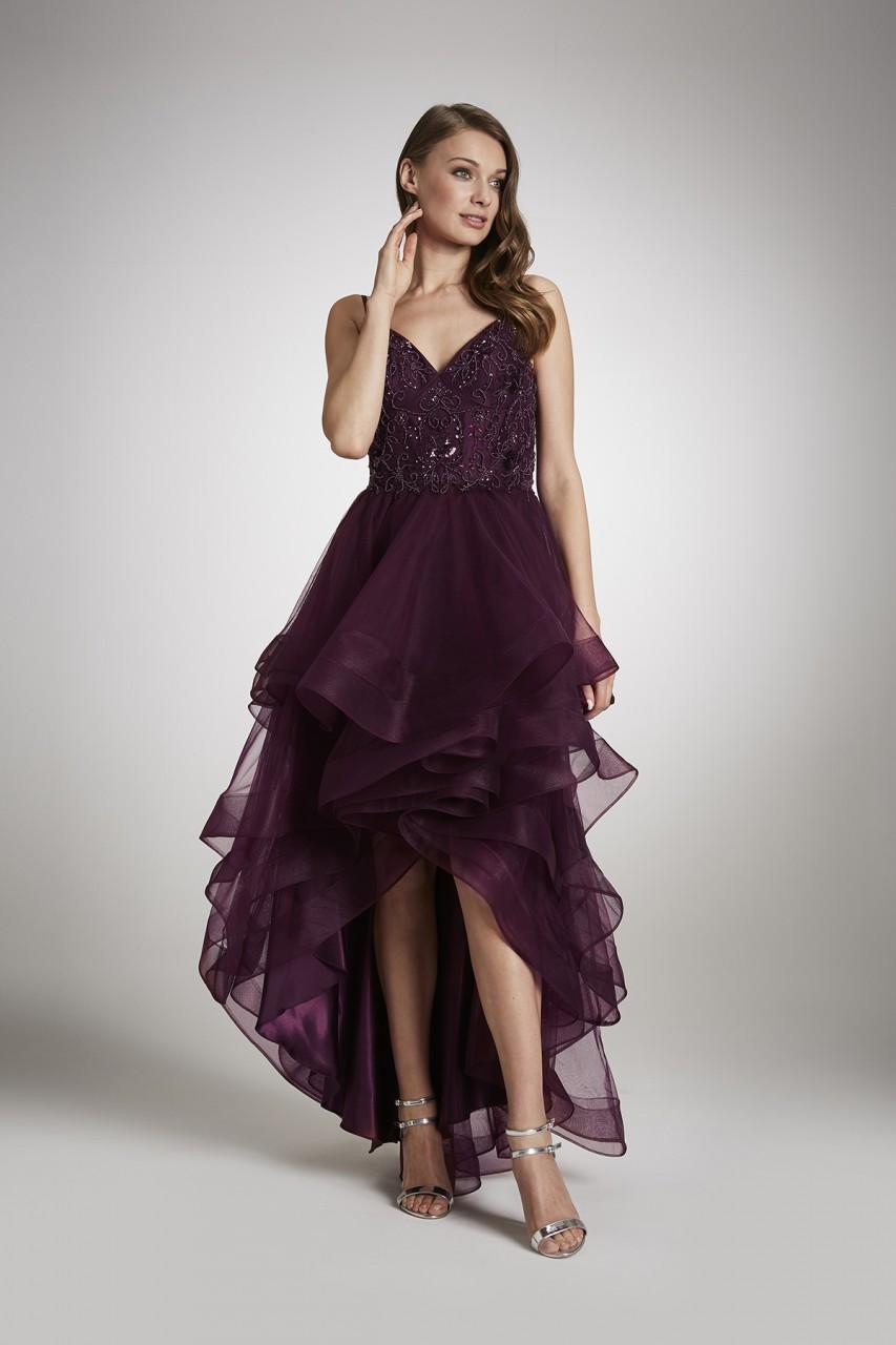 GLAMOROUS HIGH-LOW DRESS