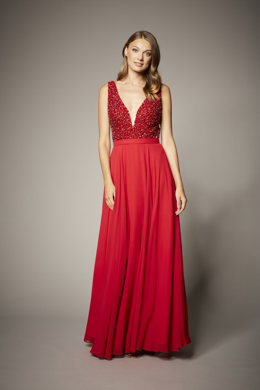 GLAMOROUS GLOW DRESS