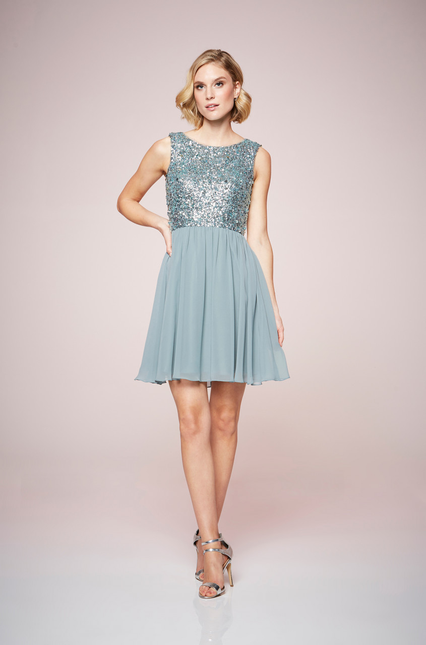 Shimmering Sequin Cocktaildress
