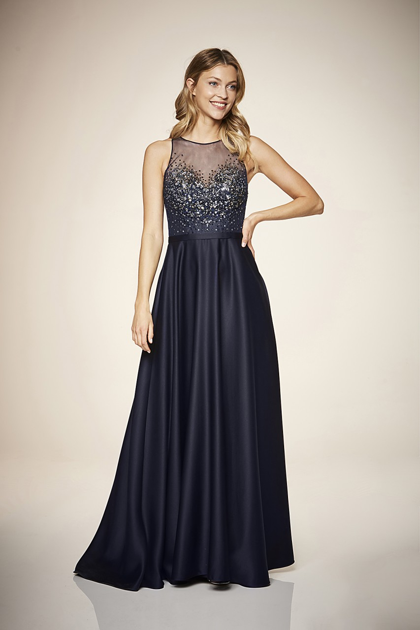Glorious Satin Gown