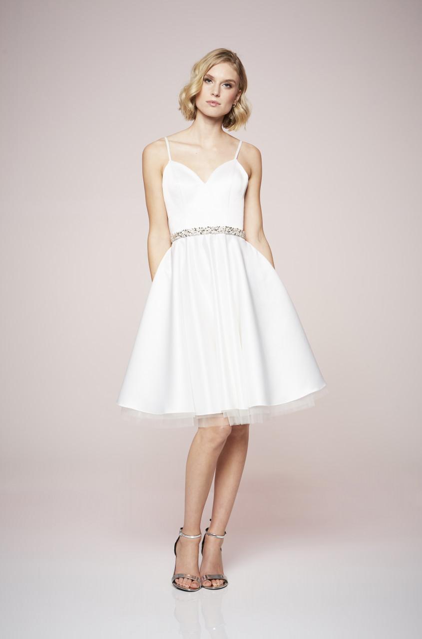 White Romance Dress