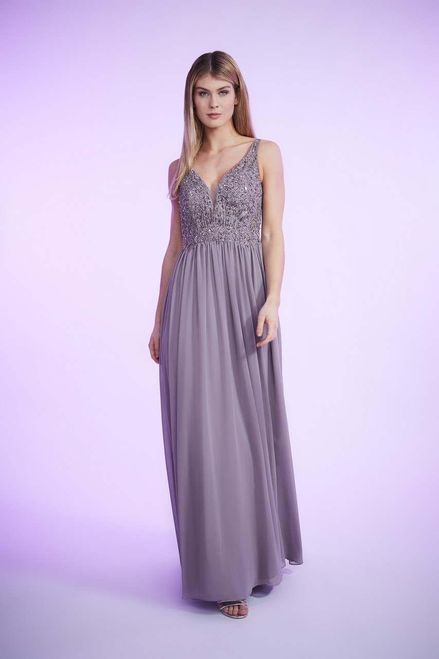 CHIFFON SPARKLE DRESS