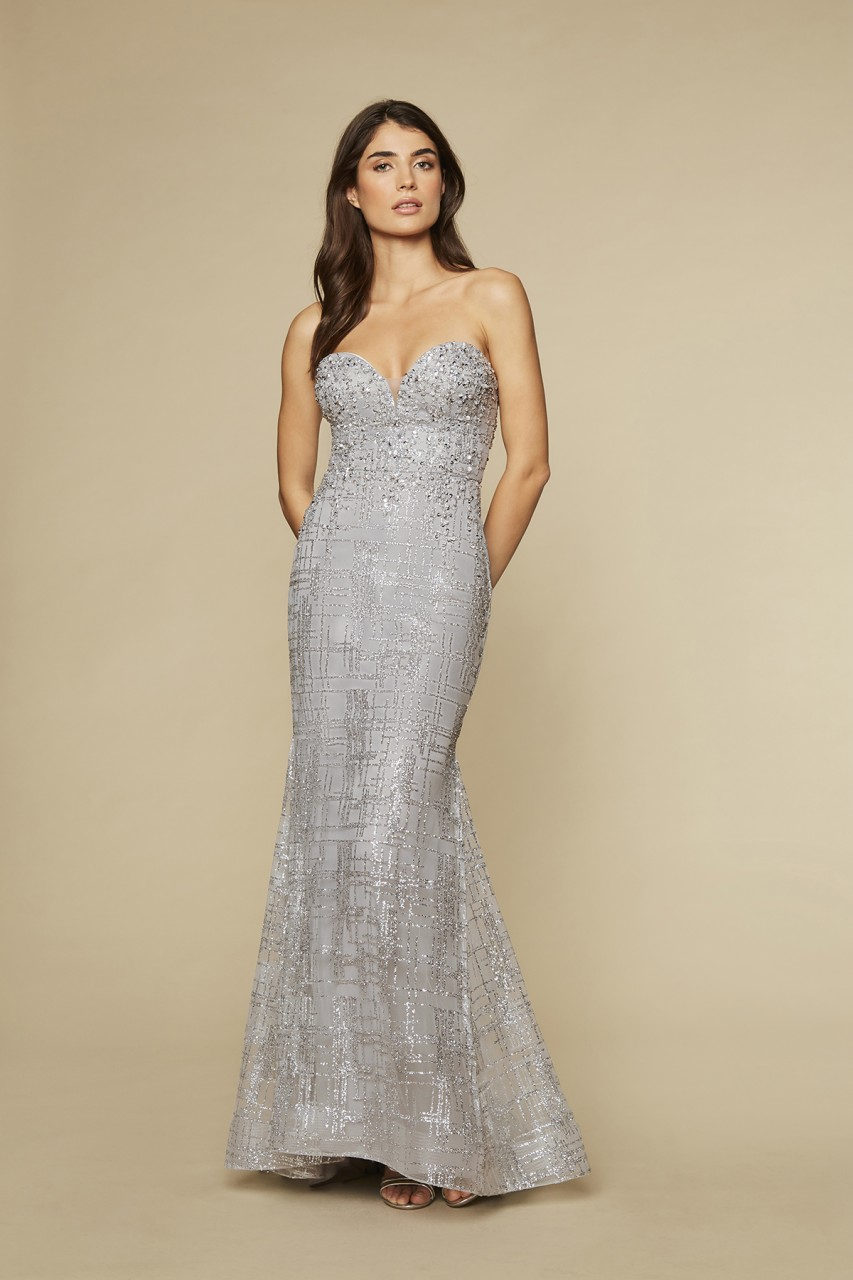 HYPNOTIC SILVER GOWN