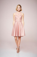 Luminous Satin Dress
