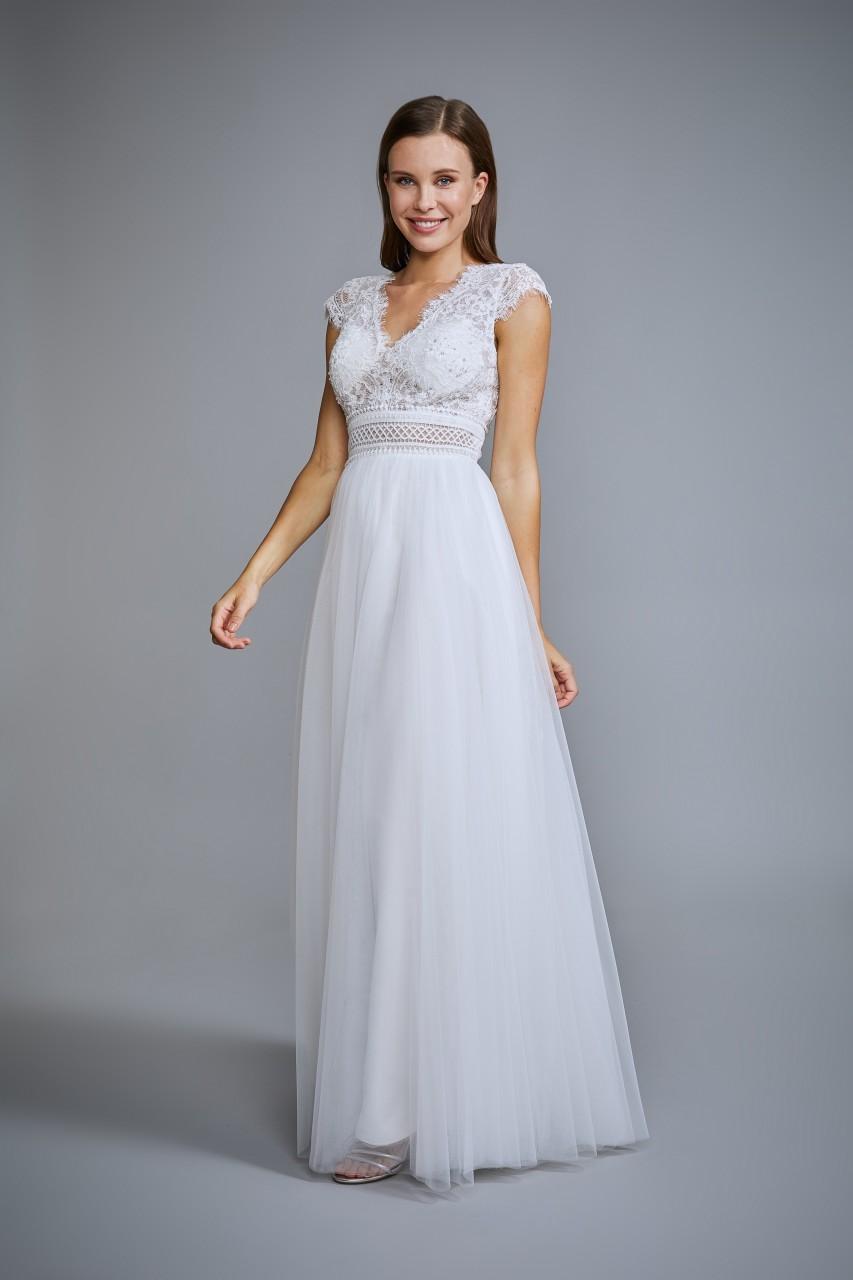 BOHEMIAN VIBE WEDDING DRESS
