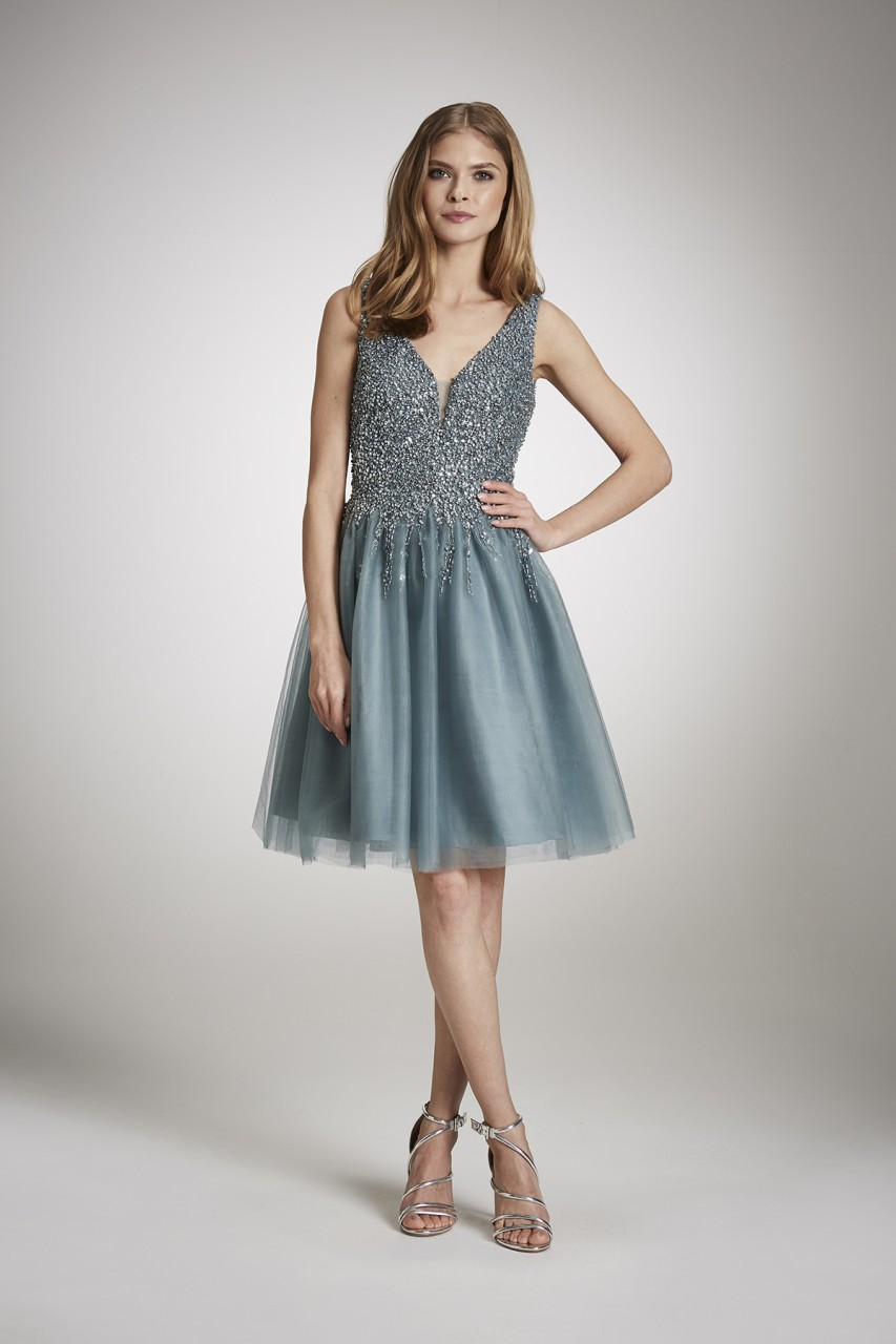 GIVE A GLAM COCKTAIL DRESS